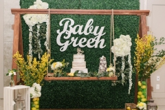 Welcome Baby Green Baby Shower